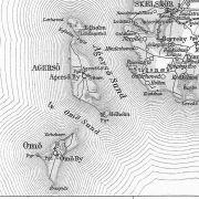 Karte von Agersø. Auf Agersø findest Du zu jeder Jahreszeit gute Angelmöglichkeiten.