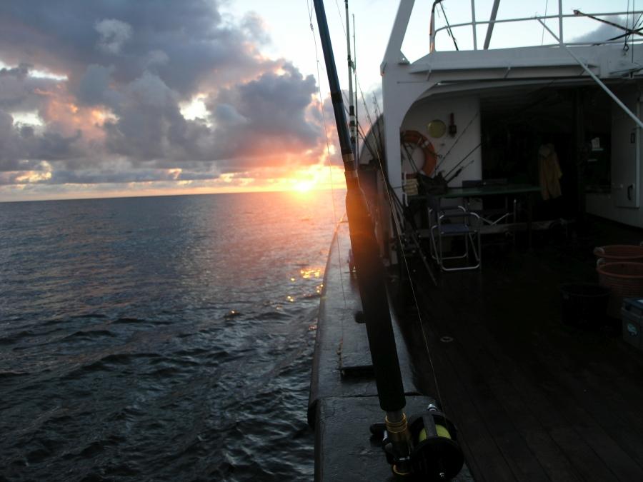 Abendstimmung auf dem Gelben Riff