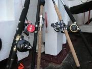Bootsruten mit Multirollen
