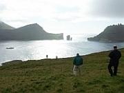 eindrucksvolle Landschaft auf den Färöer Inseln